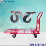 Đại lý xe đẩy hàng 4 bánh 300Kg Phong Thạnh XTH 130L giá rẻ