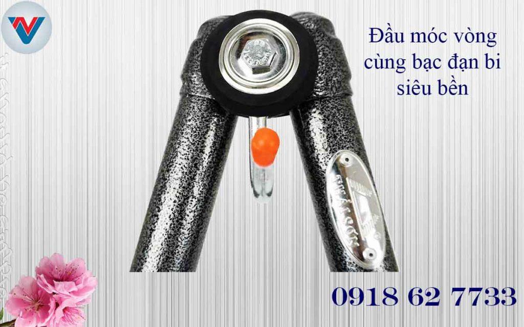 đầu móc võng xếp Thái Sơn ống tròn thép sơn tĩnh điện cao cấp giá rẻ