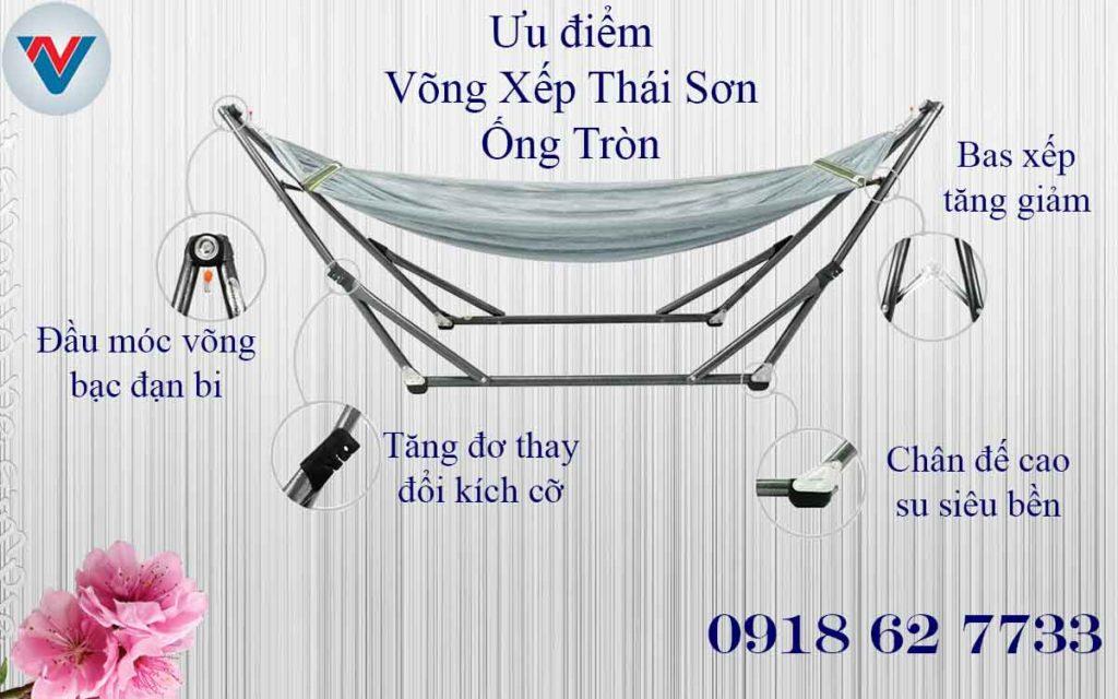 Ưu Điểm Võng Xếp Thái Sơn Nên Mua