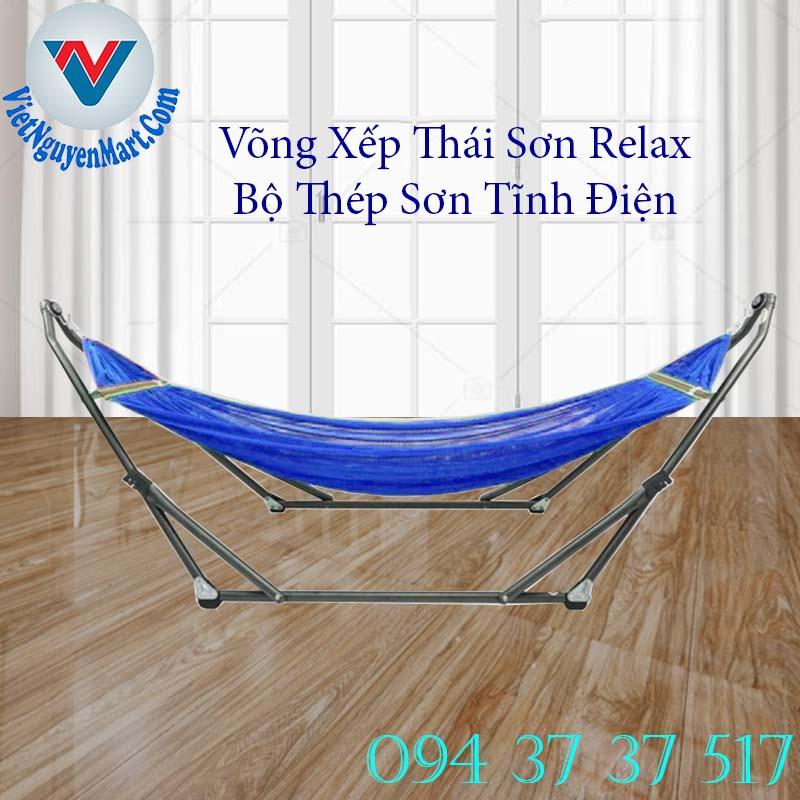 Võng Xếp Thái Sơn Relax Thép giá rẻ giao nhanh trong ngày