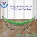 2, Võng Xếp Thái Sơn Relax Thép Sơn Tĩnh Điện 2
