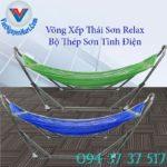 3, Võng Xếp Thái Sơn Relax Thép Sơn Tĩnh Điện 3
