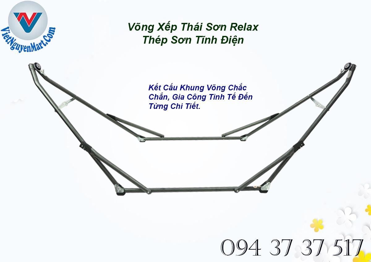 Chi Tiết Gia Công Võng Xếp Thái Sơn Relax Thép