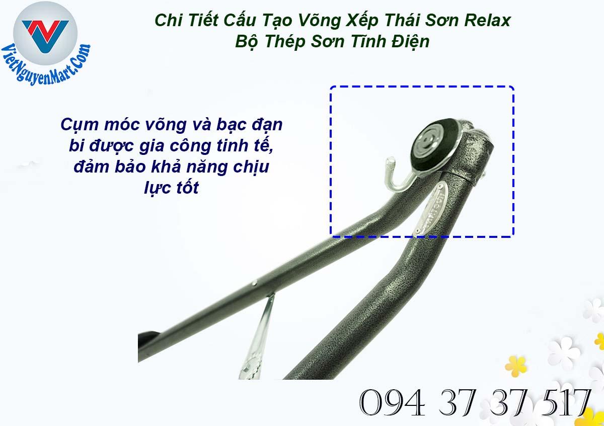 Cụm móc võng xếp Thái Sơn Relax Thép giá tốt