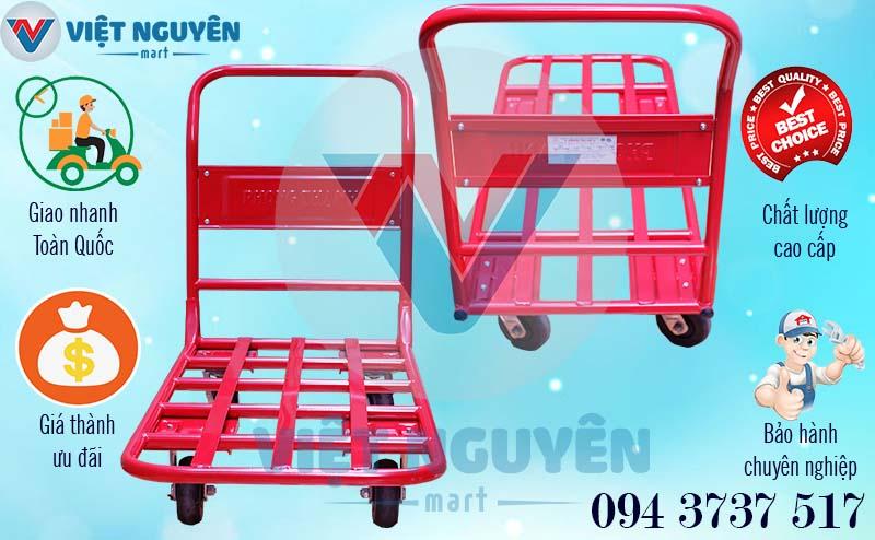 Quyền lợi khách hàng xe đẩy 4 bánh XTH 130L 300kg Phong Thạnh