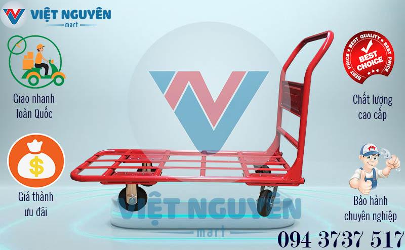 Chính sách bán xe đẩy hàng 4 bánh Phong Thạnh 300Kg XTH 130N
