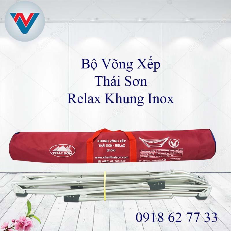 Võng Xếp Thái Sơn Relax Inox Cao Cấp