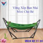 Võng Xếp Ban Mai Mini Cho Bé (1)