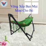 Võng Xếp Ban Mai Mini Cho Bé (2)