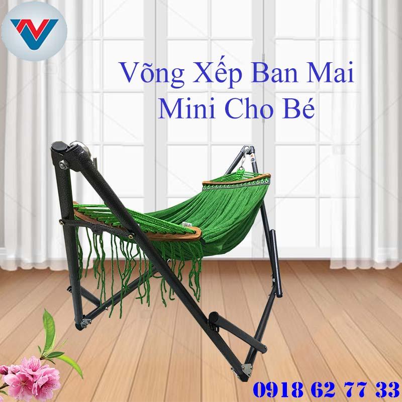 Võng Xếp Ban Mai Mini Cho Em Bé