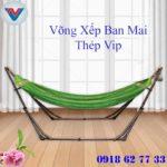 Võng Xếp Ban Mai Thép Vip (1)
