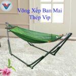 Võng Xếp Ban Mai Thép Vip (2)