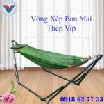 Võng Xếp Ban Mai Thép Vip (3)