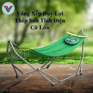 Võng Xếp Thép Sơn Tĩnh Điện Cỡ Lớn Duy Lợi
