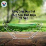 Võng Xếp Duy Lợi Thép Sơn Tĩnh Điện Cỡ Nhỏ (3)