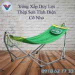 Võng Xếp Duy Lợi Thép Sơn Tĩnh Điện Cỡ Nhỏ (4)