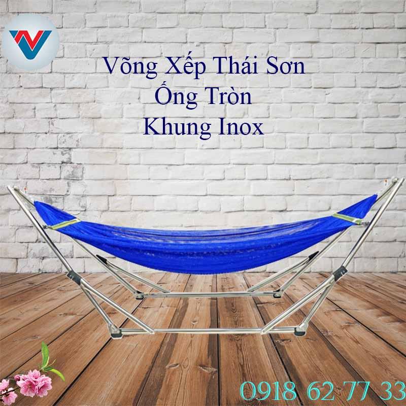 Võng Xếp Inox Thái Sơn Chính Hãng Giá Rẻ