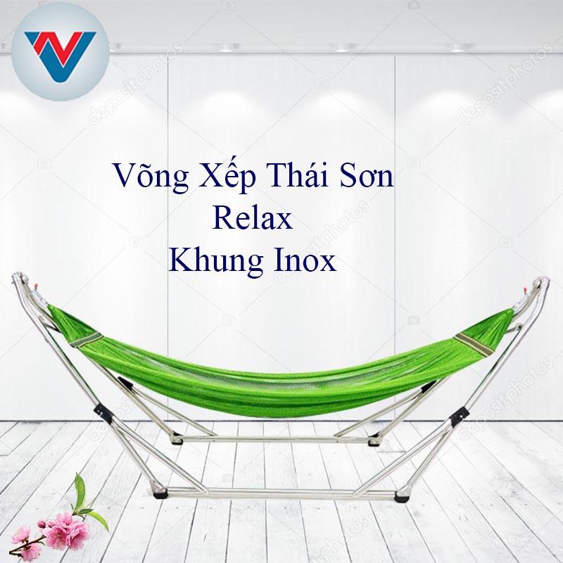 Võng Xếp Thái Sơn Relax Khung Inox chính hãng