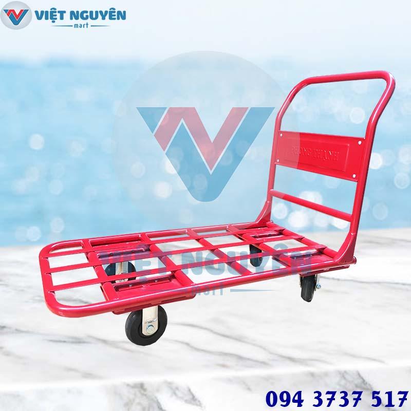 Đại lý xe đẩy 4 bánh Phong Thạnh 300kg XTH 130N chính hãng hỗ trợ giao hàng Toàn Quốc