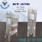 Thang nhôm gấp 4 đoạn Kagami KT -37D (2)