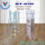 Thang nhôm gấp 4 đoạn Kagami KT -67D (4)