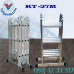 Thang nhôm gấp xếp 4 đoạn Kagami KT -37M (1)