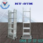 Thang nhôm gấp xếp 4 đoạn Kagami KT -57M (1)
