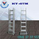 Thang nhôm gấp xếp 4 đoạn Kagami KT -67M (1)