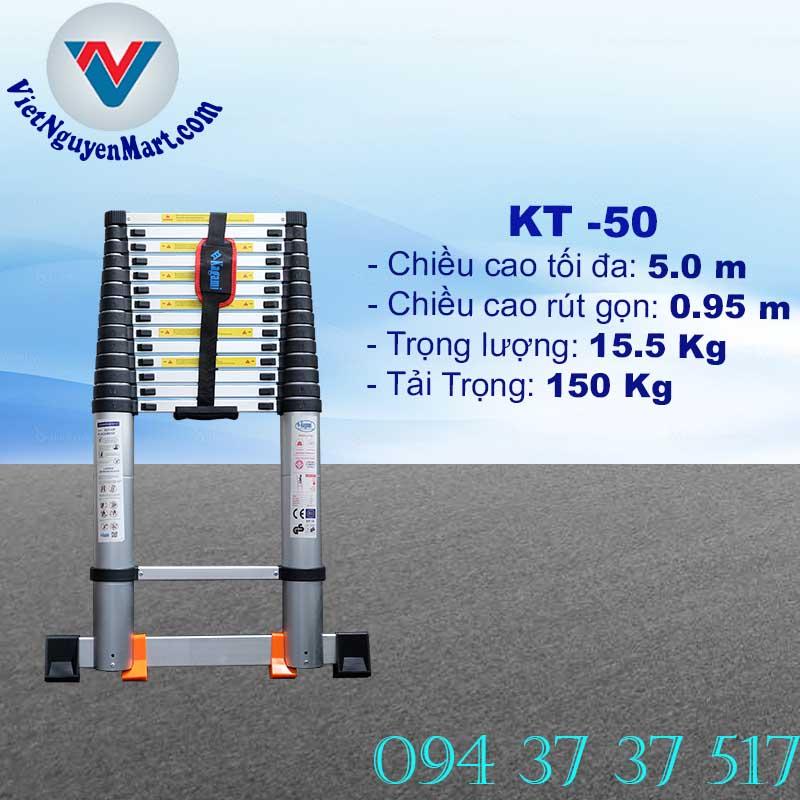 Thang Nhôm Rút Gọn 5.0m