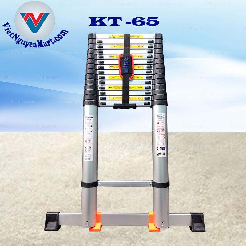 Thang nhôm rút đơn Kagami 6.5 m giá rẻ giao nhanh 2h