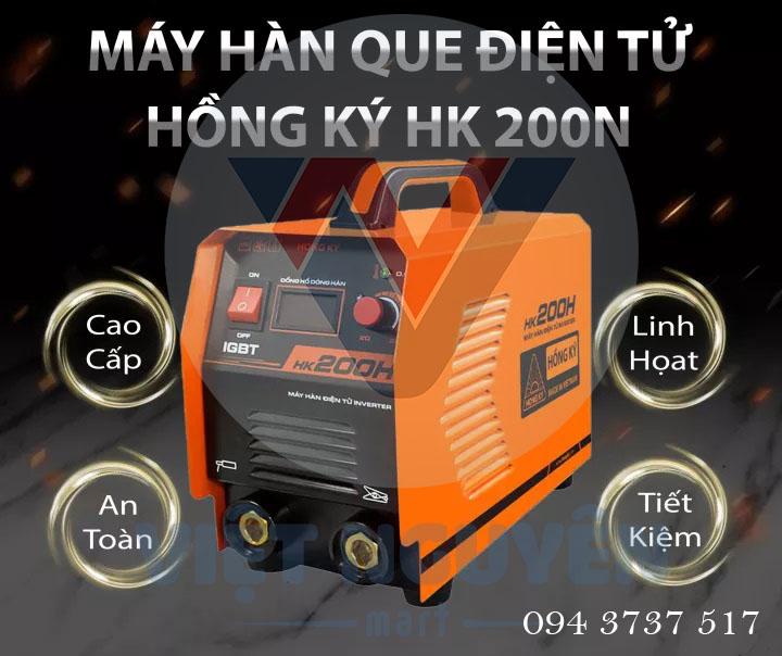 Máy Hàn Điện Tử Hồng Ký HK 200N Cao Cấp
