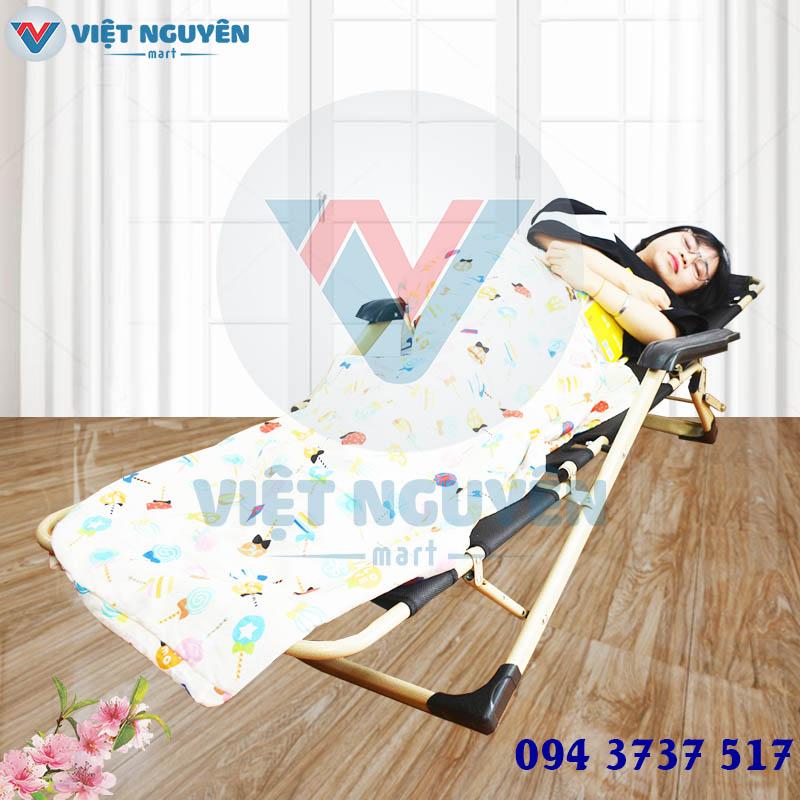 Ứng dụng ghế xếp giường thư giãn cao cấp đa năng NIKA VN-138 thiết kế hiện đại