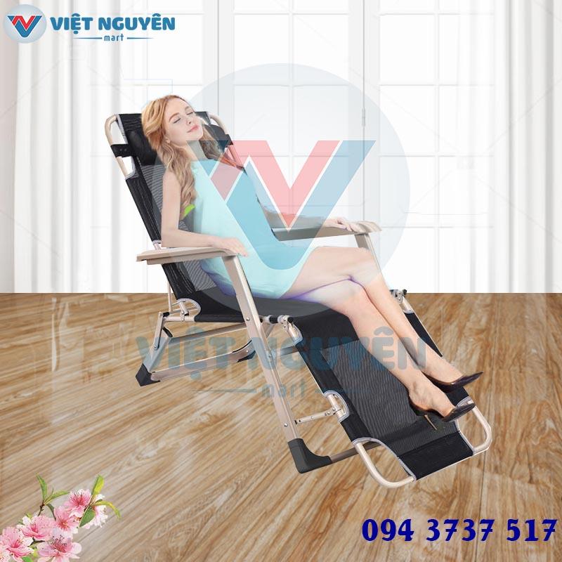 ghế xếp giường thư giãn cao cấp đa năng NIKA VN-138 thiết kế hiện đại