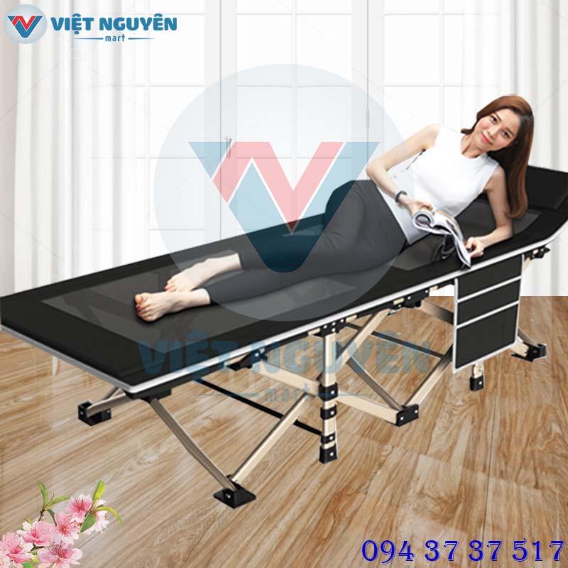 Giường xếp gấp gọn đa năng Nika VN-TT02 dành cho bệnh viện, văn phòng, trường học, cơ quan
