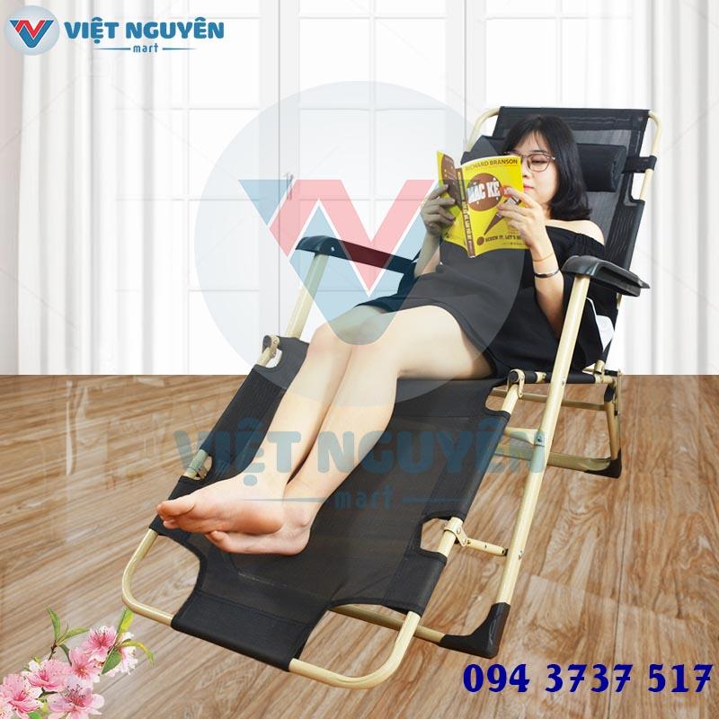 Đại lý phân phối ghế giường gấp xếp thư giãn Nika VN-138 cao cấp giá tốt