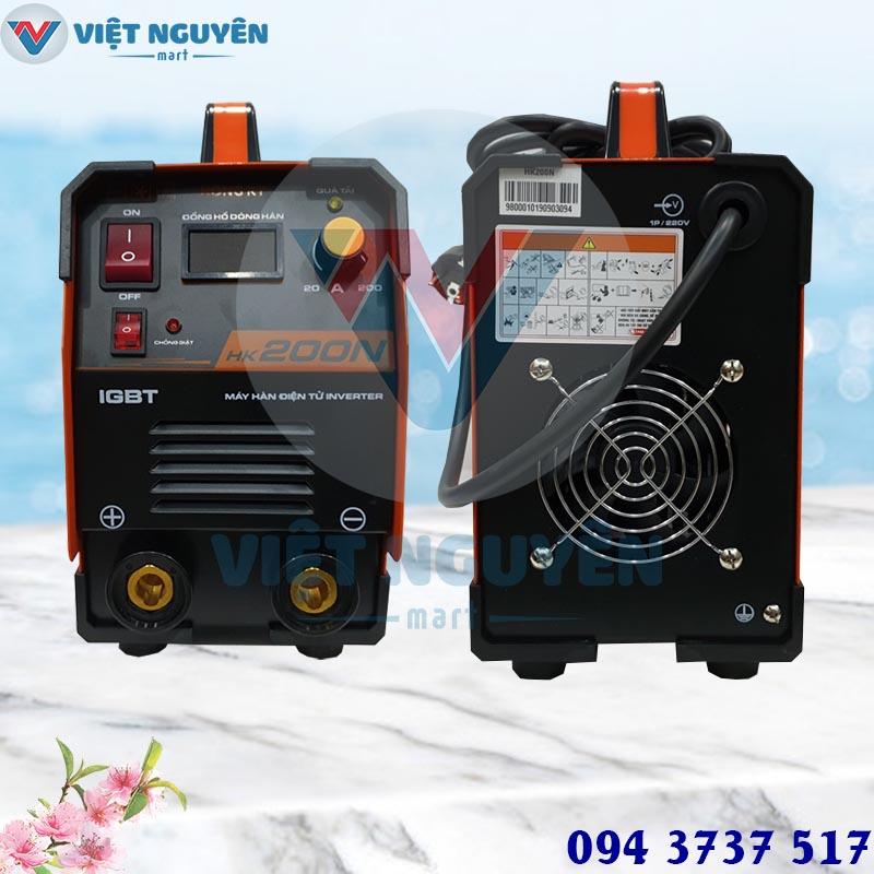 Thế mạnh máy hàn que điện tử Hồng Ký HK 200N chuyên dụng