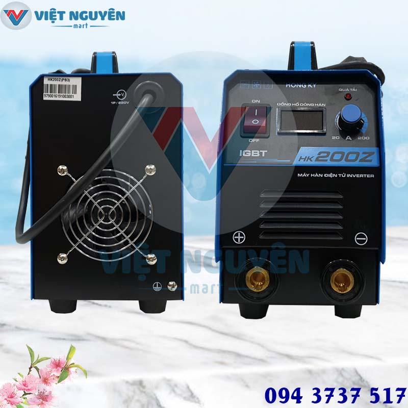 Tiện ích máy hàn que điện tử Hồng Ký model HK 200Z inverter cao cấp