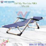 Ghế Giường Xếp Đa Năng Nika VN-138 ( dạng nằm)