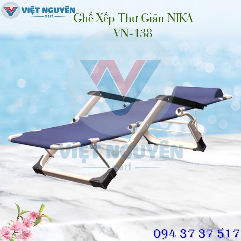 Đại lý cung cấp ghế - giường xếp thư giãn đa năng chính hãng Nika VN-138 giá tốt