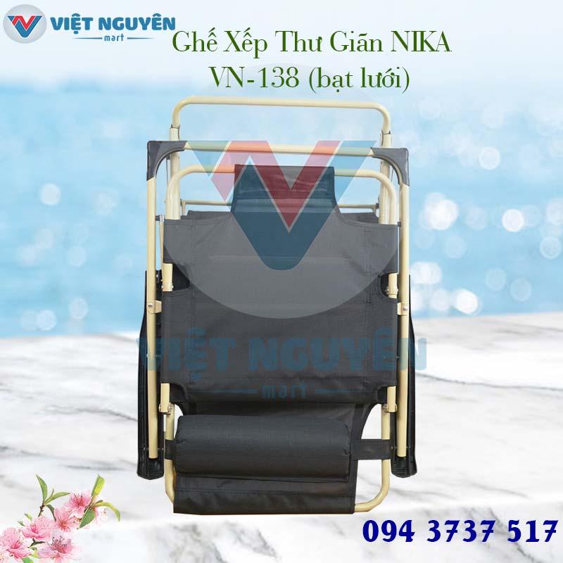 ghế giường xếp thư giãn Nika 138 đa năng giá tốt tại các tỉnh thành - hỗ trợ giao hàng Toàn Quốc