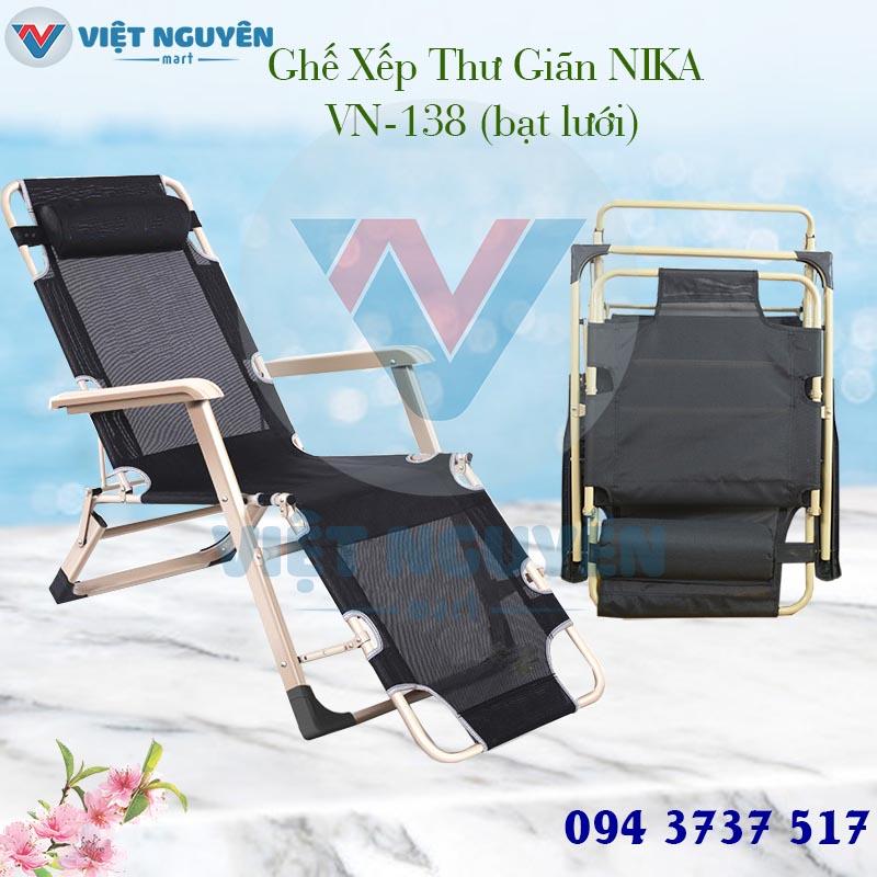 Ưu điểm đặc biệt ghế giường xếp thư giãn cao cấp Nika VN-138 thiết kế đẳng cấp