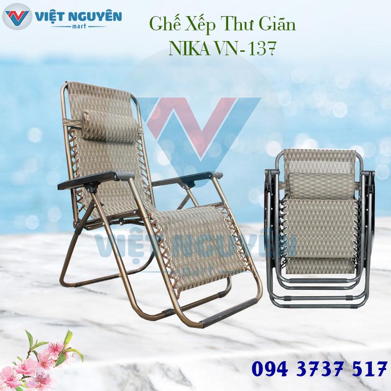 Ưu điểm đặc biệt ghế xếp thư giãn cao cấp Nika VN-137 thiết kế đẳng cấp