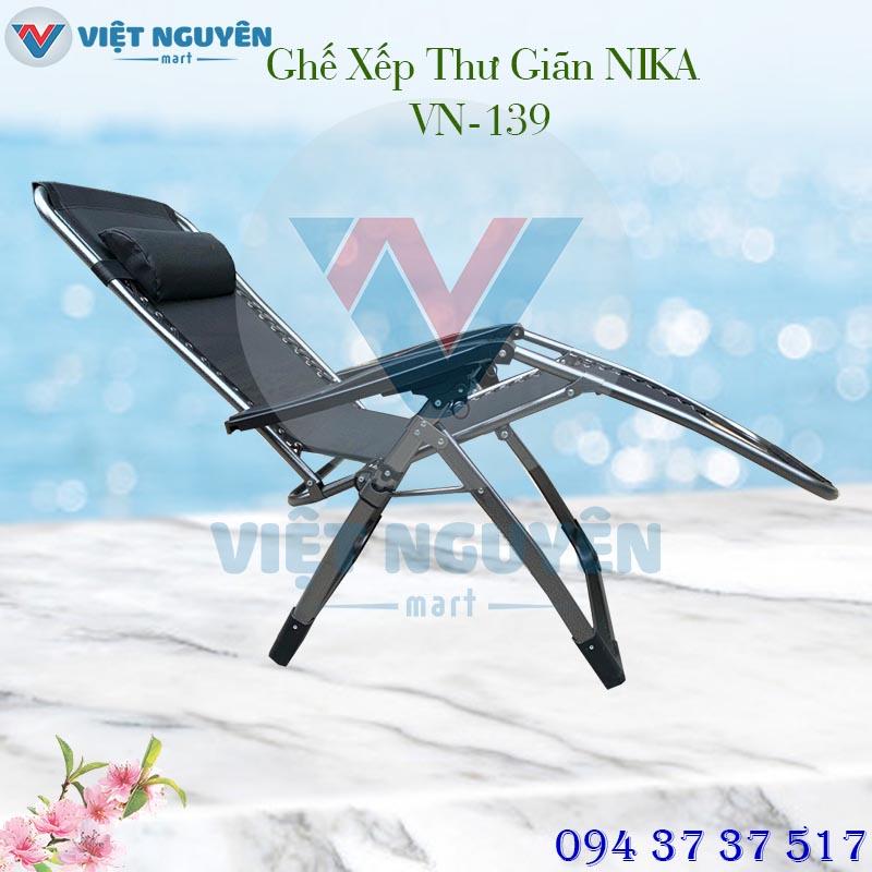 Ưu điểm đặc biệt ghế xếp thư giãn cao cấp Nika VN-139 thiết kế đẳng cấp