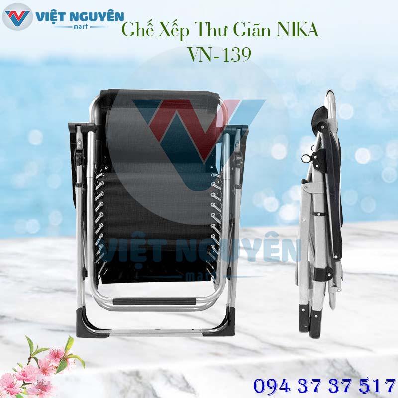 ghế xếp thư giãn cao cấp Nika VN-139 thiết kế đẳng cấp
