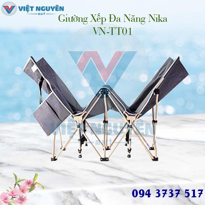 Đại lý phân phối giường gấp - xếp gọn thư giãn văn phòng đa năng Nika VN-TT01 giá tốt