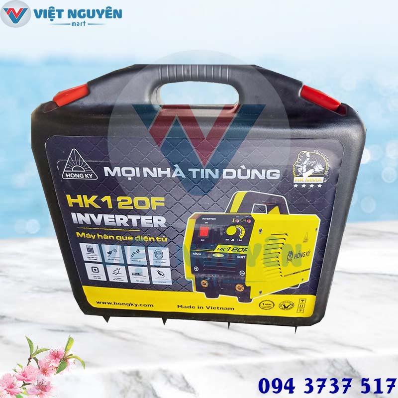 Đại lý chính hãng giá tốt phân phối máy hàn điện tử Hồng Ký HK 120F đa năng