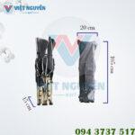 Kích thước giường gấp xếp gọn võng đa năng VN-TT02
