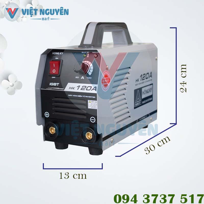 Thông số kỹ thuật máy hàn điện tử Hồng Ký HK 120A chính hãng