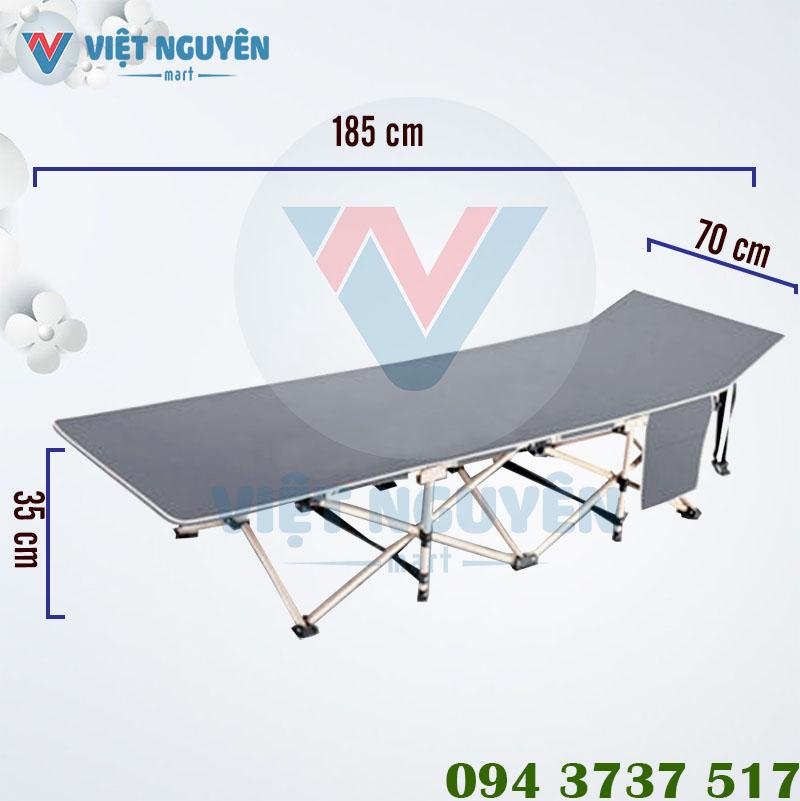 Kích thước sử dụng giường gấp văn phòng Nika VN-TT01