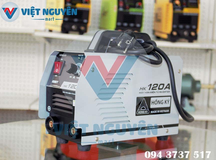 Đại lý phân phối máy hàn điện tử HK 120A cao cấp tại các tỉnh thành - giao hàng Toàn Quốc